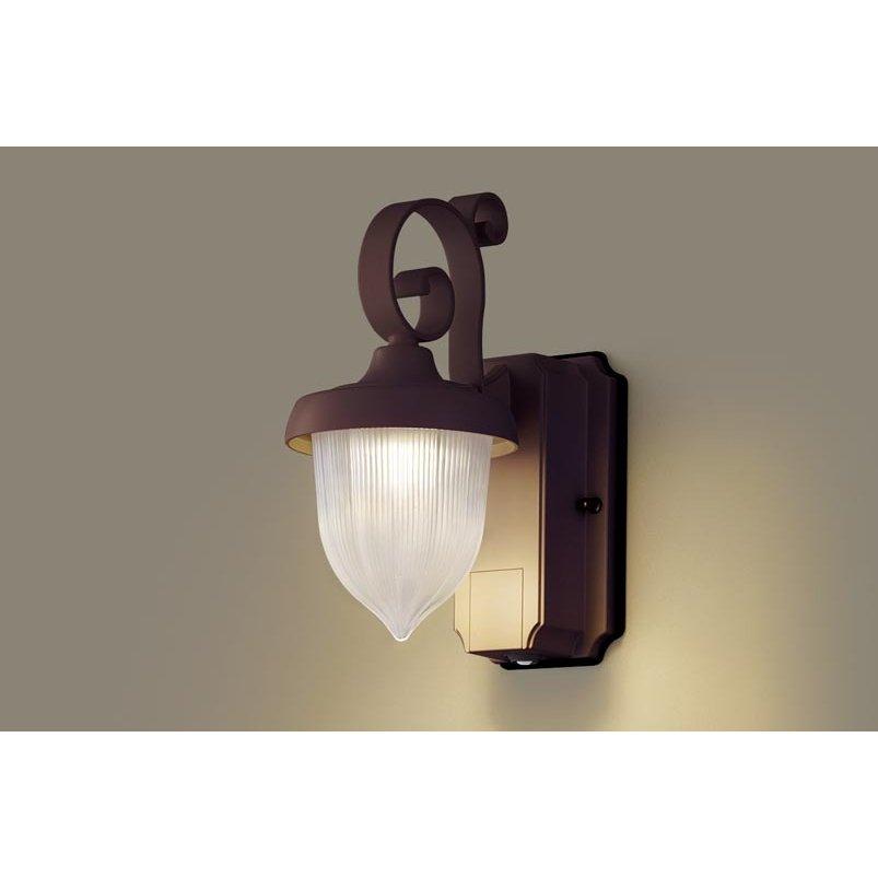 パナソニック LGWC80235 LE1 壁直付型 LED 電球色 ポーチライト 密閉型 防雨型 FreePaお出迎え 明るさセンサ付 段調光型 白熱電球60形1灯相当