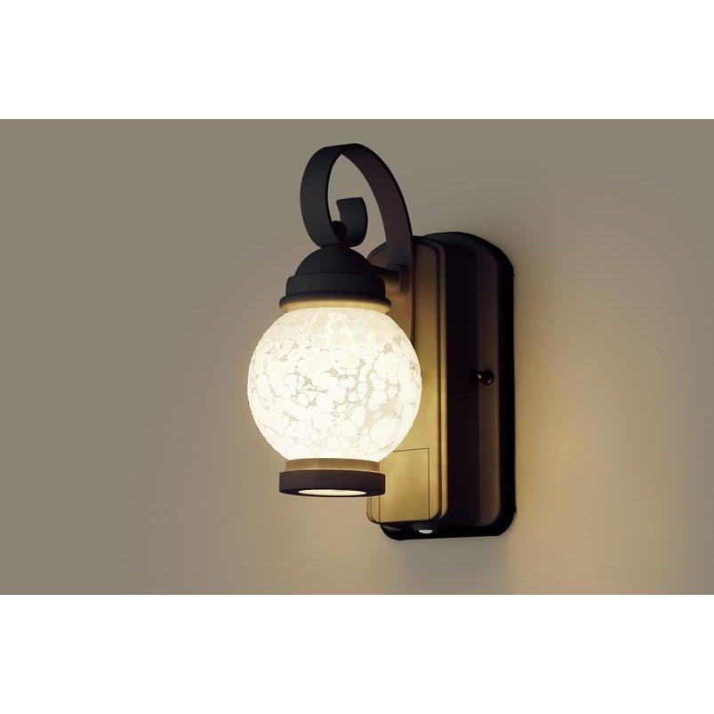 パナソニック LGWC80251 LE1 壁直付型 LED 電球色 ポーチライト 密閉型 防雨型 FreePaお出迎え 明るさセンサ付 段調光型 白熱電球60形1灯相当