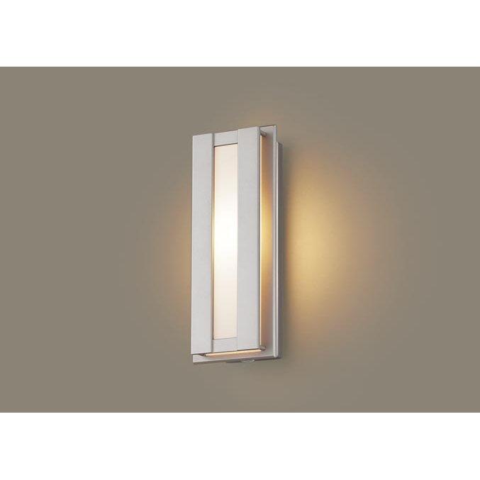 パナソニック LGWC80414 LE1 壁直付型 LED 電球色 ポーチライト 拡散型 防雨型 FreePaお出迎え 段調光型 明るさセンサ付 白熱電球40形1灯器具相当
