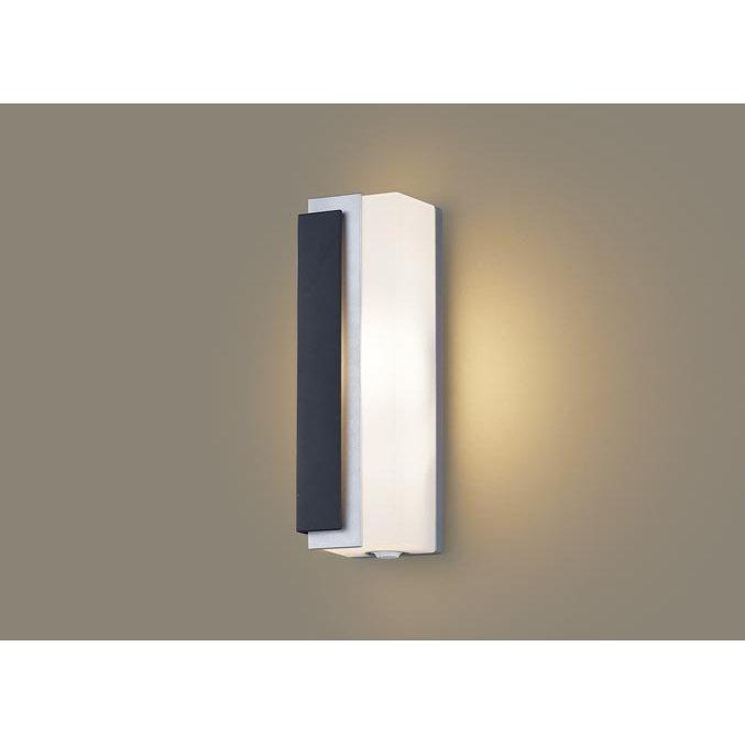 パナソニック LGWC80441 LE1 壁直付型 LED 電球色 ポーチライト 拡散型 防雨型 FreePaお出迎え 段調光型 明るさセンサ付 白熱電球40形1灯器具相当