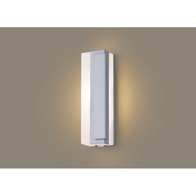 パナソニック LGWC80445 LE1 壁直付型 LED 電球色 ポーチライト 拡散型 防雨型 FreePaお出迎え 段調光型 明るさセンサ付 白熱電球40形1灯器具相当