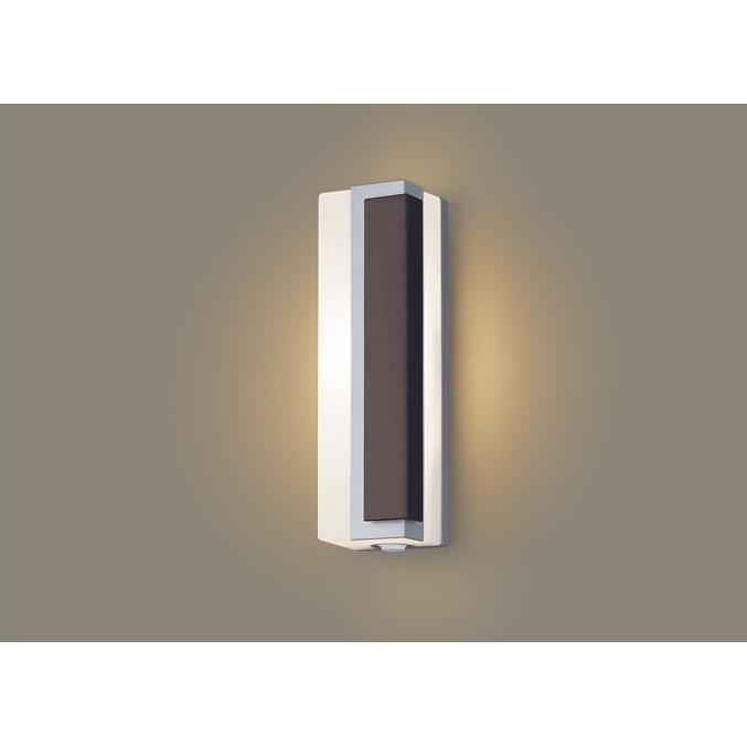 パナソニック LGWC80447 LE1 壁直付型 LED 電球色 ポーチライト 拡散型 防雨型 FreePaお出迎え 段調光型 明るさセンサ付 白熱電球40形1灯器具相当