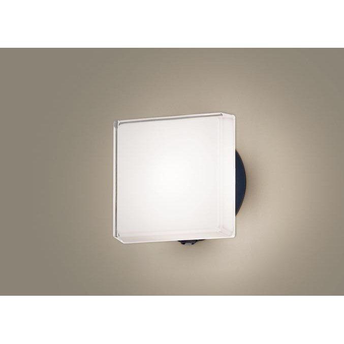 パナソニック LGWC81307 LE1 壁直付型 LED 電球色 ポーチライト 拡散型 防雨型 FreePaお出迎え フラッシュ 段調光型 明るさセンサ付 白熱電球40形1灯相当