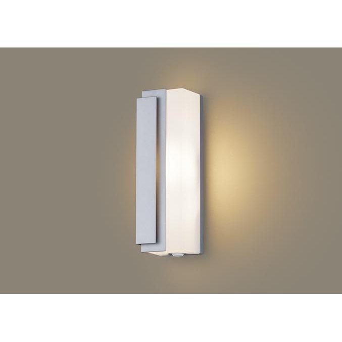 パナソニック LGWC81440 LE1 壁直付型 LED 電球色 ポーチライト 拡散型 防雨型 FreePaお出迎え フラッシュ 段調光型 明るさセンサ付 白熱電球40形1灯相当