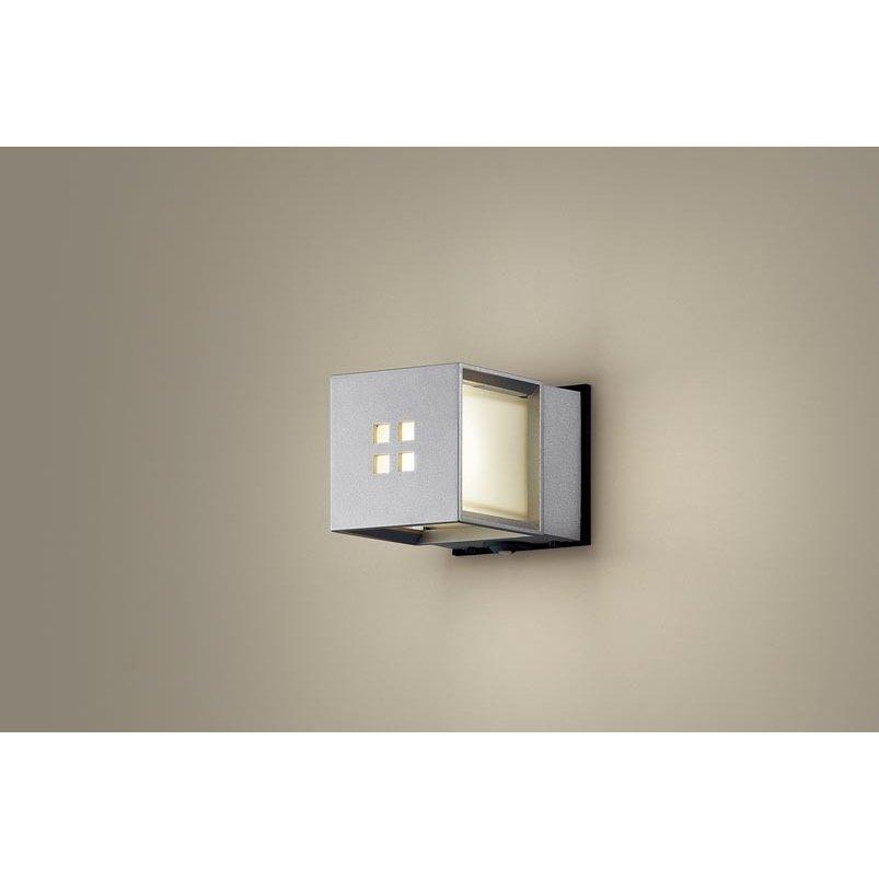 パナソニック LGWC85040SU 壁直付型 LED 電球色 ポーチライト 密閉型 防雨型 FreePaお出迎え 点灯省エネ 明るさセンサ付 白熱電球40形1灯相当 ランプ付(同梱)