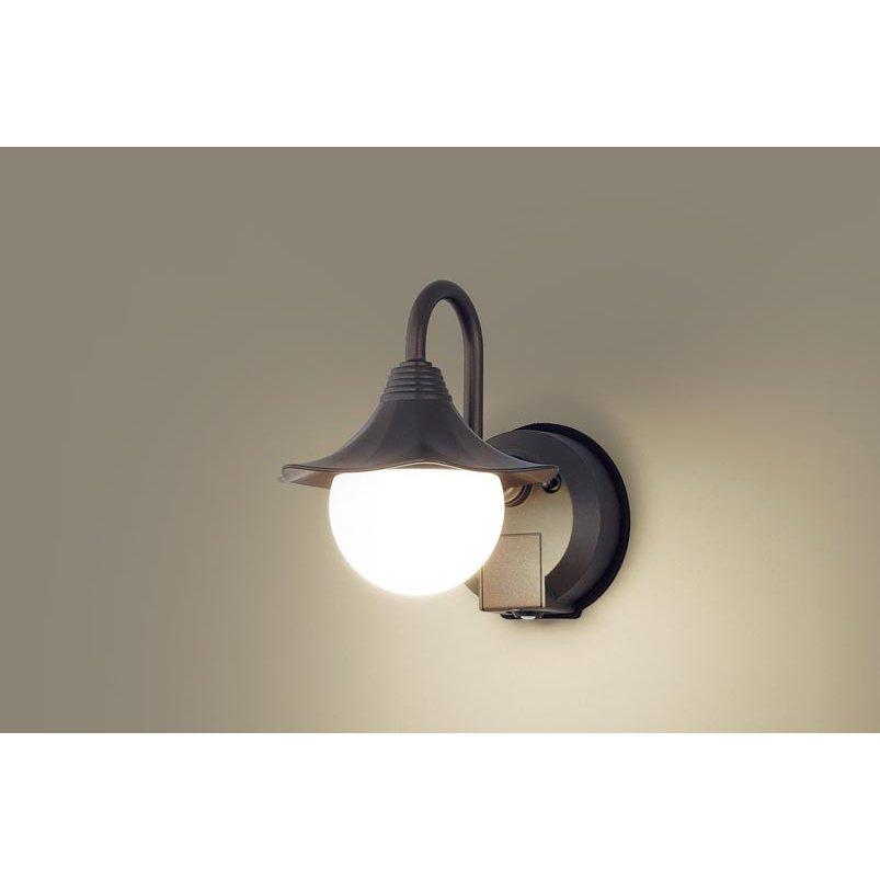 パナソニック LGWC85219Z 壁直付型 LED 電球色 ポーチライト 密閉型 防雨型 FreePaお出迎え 点灯省エネ 明るさセンサ付 白熱電球40形1灯相当 ランプ付(同梱)