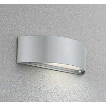 オーデリック OG 041 482LC ポーチライト 壁直付型 防雨型 下面配光 電球色 55lm 別売センサ対応 マットシルバー色 ランプ付(同梱) 『OG041482LC』