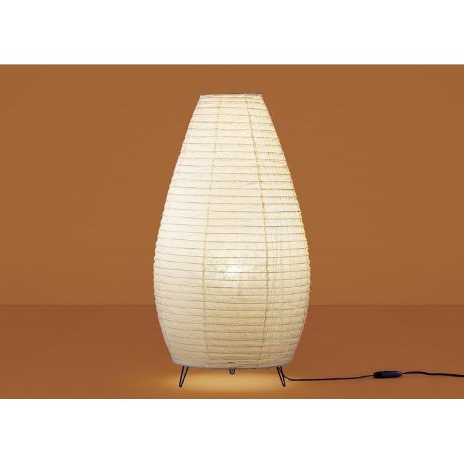 パナソニック SF998Z 和風照明 床置型 LED 電球色 フロアスタンド 中間スイッチ付 白熱電球40形1灯器具相当 ランプ付(同梱)
