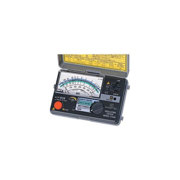 共立電気計器 絶縁抵抗計 MODEL3144A 250V/500V