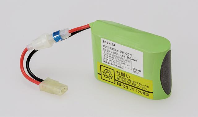 東芝 3NR-CX-SB 補修用バッテリー 冷陰極誘導灯用 『3NRCXSB』