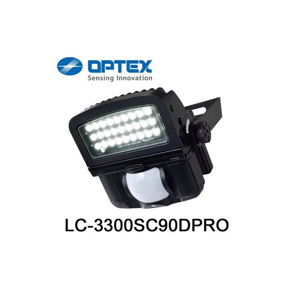 OPTEX 照明の常識を変える オプテックス セール特価品 LC-3300SC90DPRO LC3300SC90DPRO 調光タイプ 安心の定価販売 LEDセンサライト