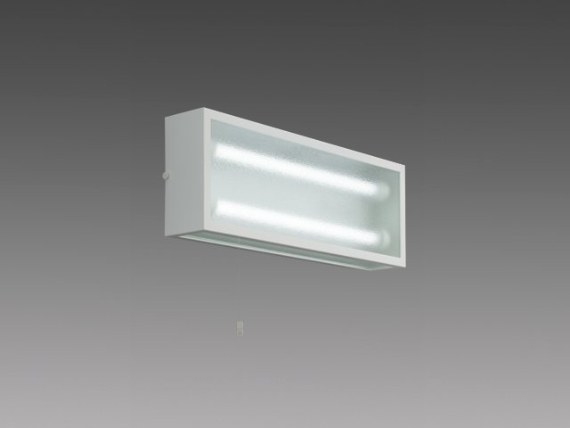 三菱 EL-LW-FH22152A AHN LED非常用照明器具 階段通路誘導灯兼用形 防湿・防雨形 壁面横付専用形 30分間定格形 1830lm 昼白色 LDL20x2 ランプ付(同梱) 受注品