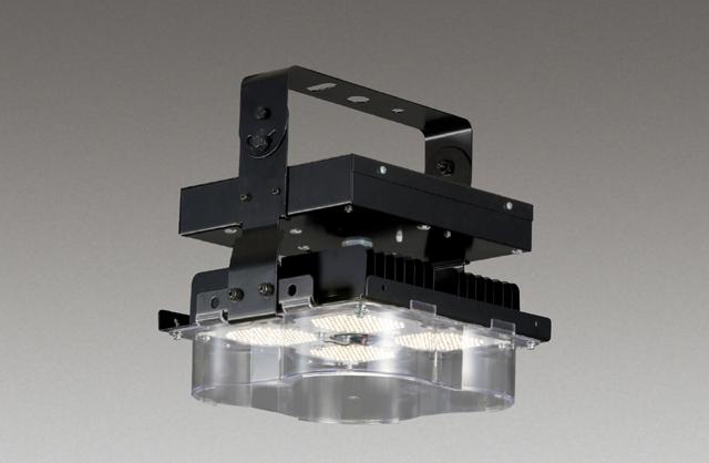 東芝 LEDJ-20505N-LD9 LED高天井器具 400Wメタハラランプ器具相当 調光可能形 1/2ビーム角112° 広角 昼白色 22600lm 電源ユニット内蔵 落下防止ワイヤー付