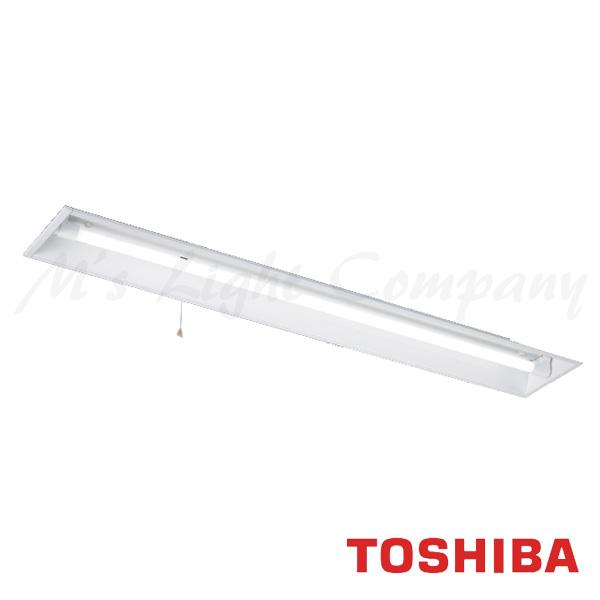 東芝 LEDRJ-41475K-LS9 LED非常用照明 一般形 埋込開放形 LDL40×1 天井取付専用 非常時2500lm×50%点灯 自己点検機能付 ランプ付(同梱) 『LEDRJ41475KLS9』