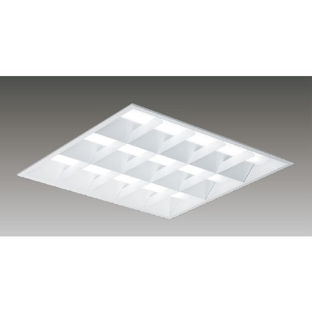 東芝 LEKR761652WW-LD9 LEDベースライト スクエア形 埋込 □600角 バッフルタイプ 5400lm 温白色 3500K 調光 器具+ライトバー 『 LEKR761652WWLD9』