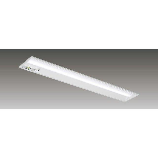 東芝 LEKRJ419694N-LS9 LED非常用照明器具 定格出力 埋込形 40形 W190 6900lmタイプ 非調光 非常時30分間点灯 器具+ライトバー 『LEKRJ419694NLS9』