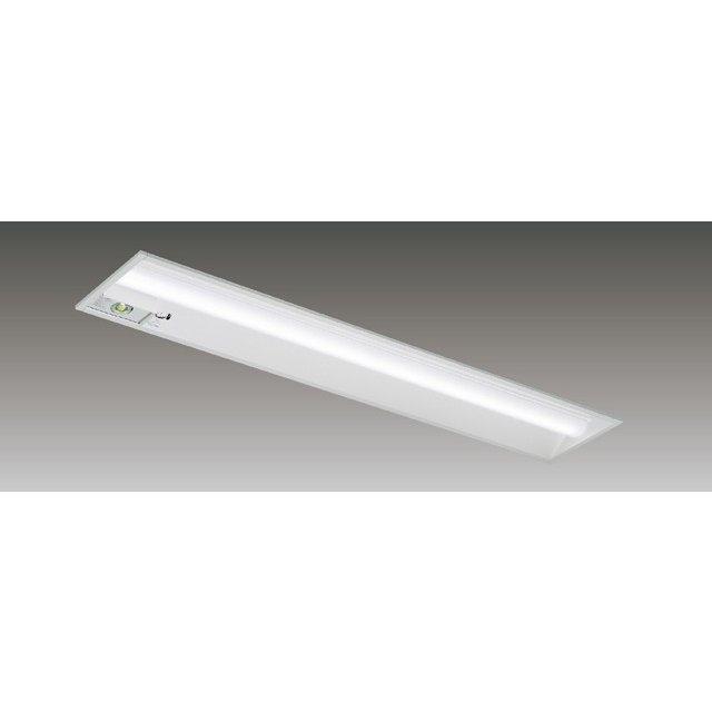 東芝 LEKRJ422324N-LS9 LED非常用照明器具 定格出力 埋込形 40形 W220 3200lmタイプ 非調光 非常時30分間点灯 器具+ライトバー 『LEKRJ422324NLS9』