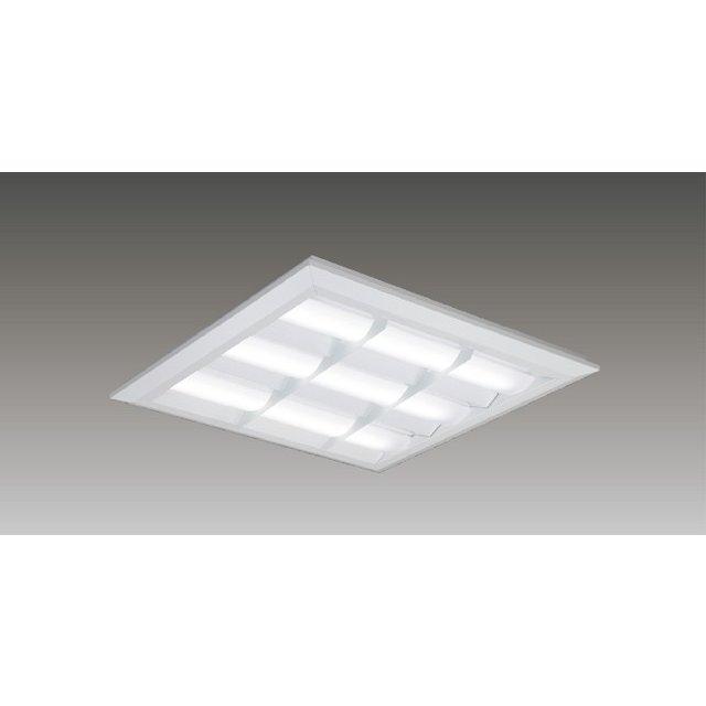 東芝 LEKT751652WW-LD9 LEDベースライト スクエア形 直付埋込兼用 □570角 バッフルタイプ 5850lm 温白色 3500K 調光 器具+ライトバー 『LEKT751652WWLD9』