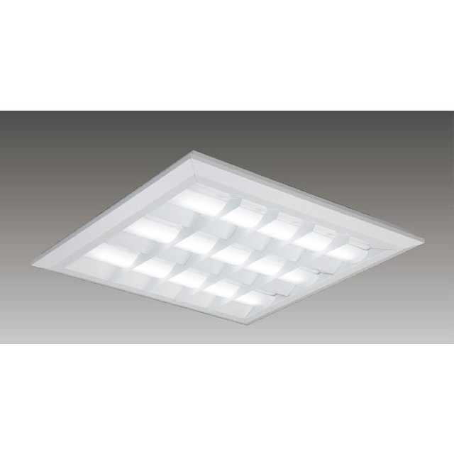 東芝 LEKT771652W-LD9 LEDベースライト スクエア形 直付埋込兼用 □720角 バッフルタイプ 5800lm 白色 4000K 調光 器具+ライトバー 『LEKT771652WLD9』