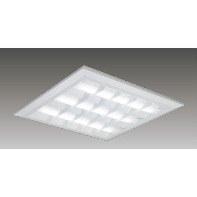 東芝 LEKT771652WW-LD9 LEDベースライト スクエア形 直付埋込兼用 □720角 バッフルタイプ 5650lm 温白色 3500K 調光 器具+ライトバー 『LEKT771652WWLD9』