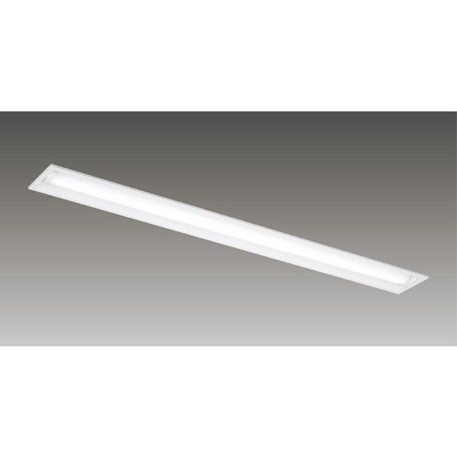 東芝 LEKRW413323SN-LS9 埋込形 40形 下面開放W130 防湿防雨形 3200lmタイプ 昼白色 非調光 ステンレス 白色型 器具+ライトバー 『LEKRW413323SNLS9』