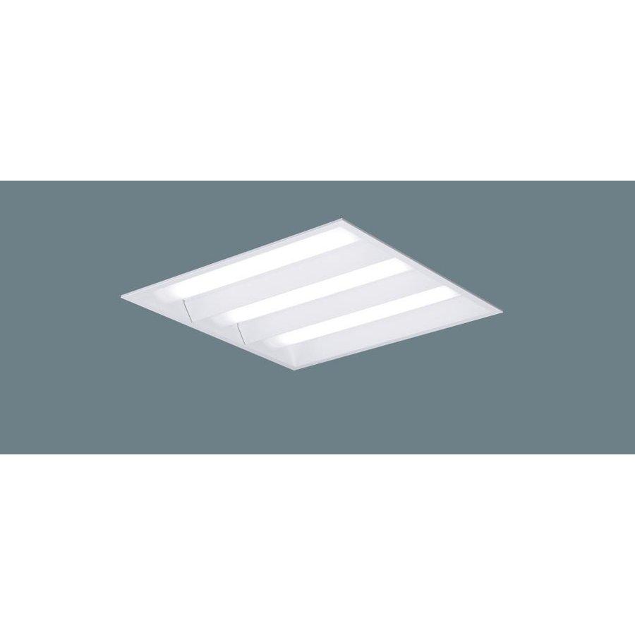 パナソニック XL373PEVJ LA9 LEDベースライト スクエア 天井埋込 下面開放 □450角 連続調光 6550lm 昼白色 ライコン別売 器具+点灯ユニット 『XL373PEVJLA9』
