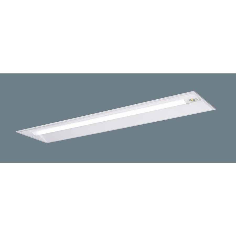 パナソニック XLG461VGN LE9 LEDベースライト 非常用 埋込型 W300 40形 昼白色 6900lmタイプ 非常時一般出力 30分間型 自己点検機能付 非調光 器具+ライトバー