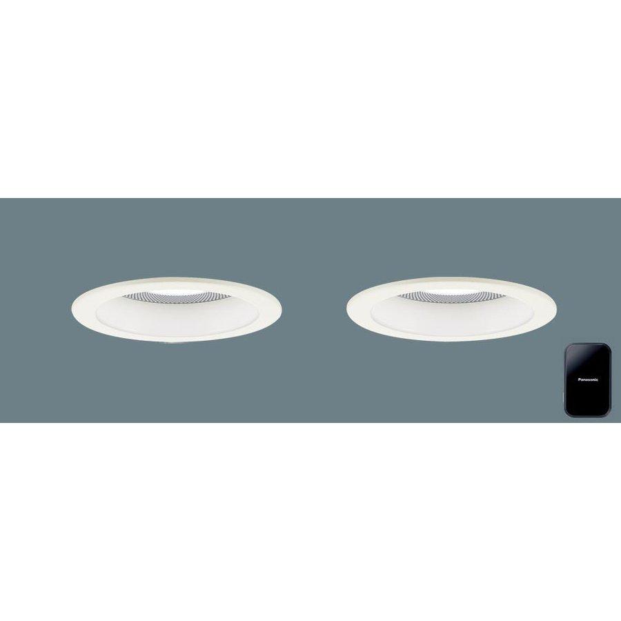 パナソニック XLGB79001 LB1 LED 温白色 ベースダウンライト 美ルック 浅型10H 高気密SB形 拡散型 調光タイプ スピーカー付 埋込穴φ100 LED一体形