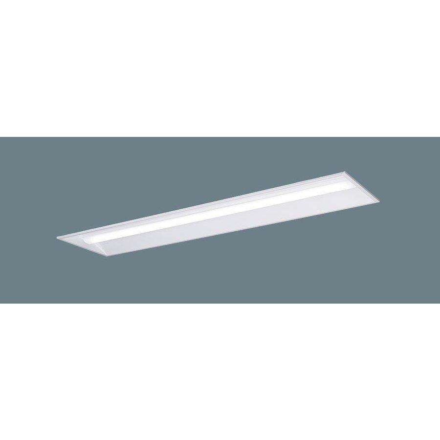 パナソニック XLX409VEW LR2 LEDベースライト リニューアル用 埋込型 40形 下面開放 W300 10000lmタイプ 白色 調光型 器具+ライトバー