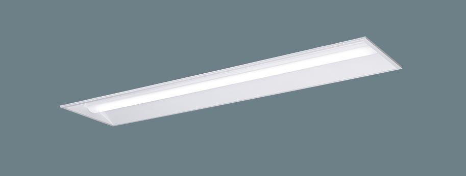パナソニック XLX469VHN LA9 LEDベースライト リニューアル用 埋込型 40形 下面開放 W300 省エネタイプ 6900lmタイプ 昼白色 調光型 器具+ライトバー