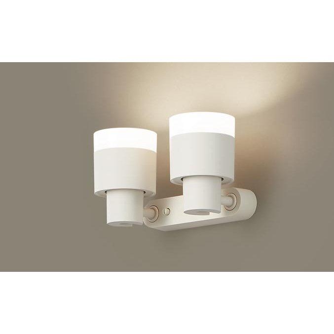 パナソニック XAS3312V CB1 天井・壁直付型・据置取付型 LED 温白色 スポットライト 美ルック 拡散型 調光型 白熱電球100形2灯相当 本体+LEDランプ