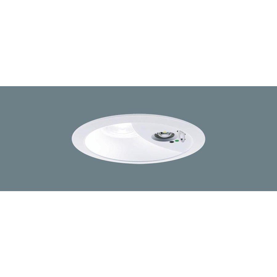 パナソニック XNG0660WV LE9 LED 温白色 ダウンライト 非常用・階段通路誘導灯 30分間型 広角型 自己点検機能付 埋込穴φ150 FHT16形1灯相当 本体+電源ユニット