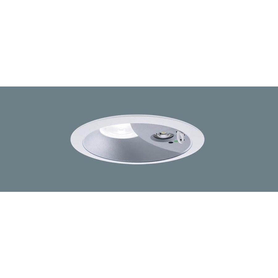 パナソニック XNG1061SW LE9 LED 白色 ダウンライト 非常用・階段通路誘導灯 30分間型 拡散型 自己点検機能付 埋込穴φ150 FHT24形1灯相当 本体+電源ユニット