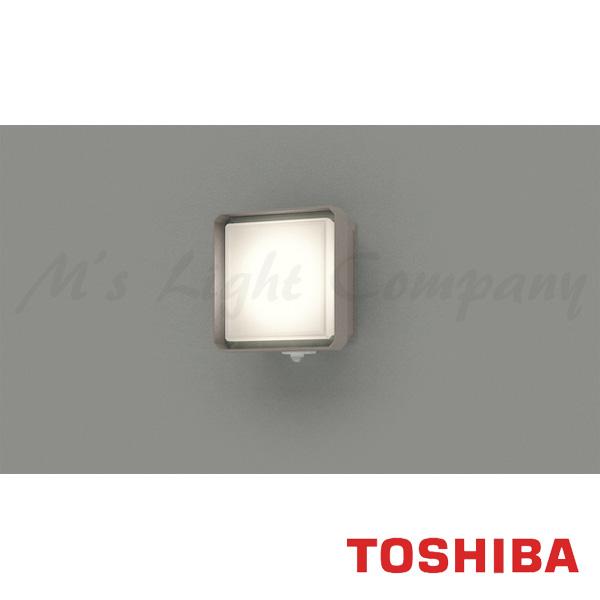 東芝 LEDB87922YL(S)-LS LED屋外ブラケット LED一体形 白熱灯器具60W相当 電球色 マルチセンサー付 『LEDB87922YLSLS』