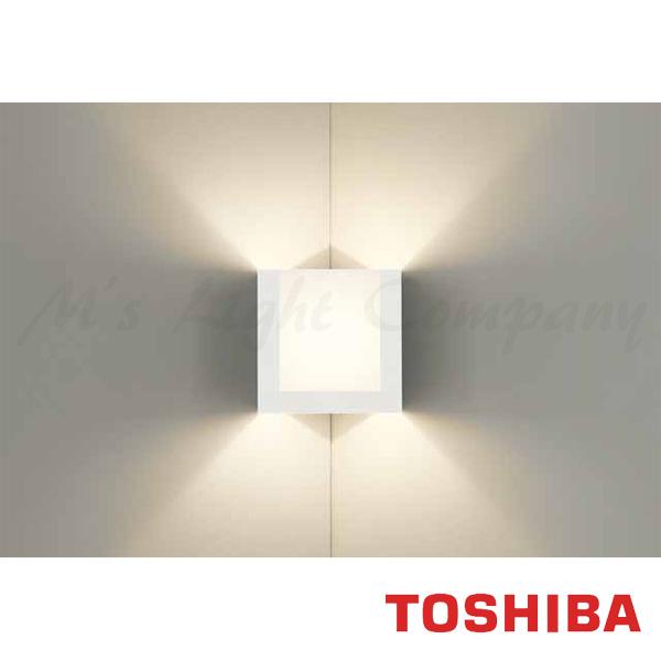 東芝 LEDB88023 LED屋内ブラケット 入隅コーナー用 E17口金 ランプ別売
