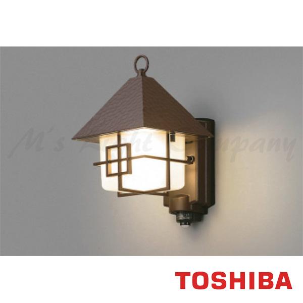 東芝 LEDB88900Y(C)M LED屋外ブラケット 防湿・防雨形 ON/OFFセンサー付 ランプ別売 『LEDB88900YCM』