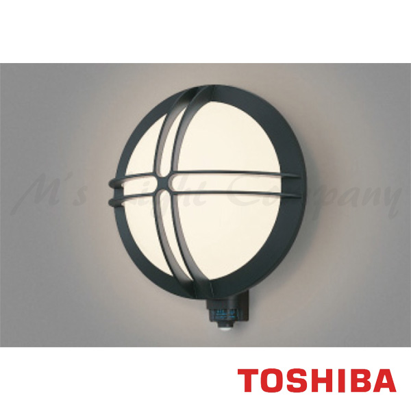 東芝 LEDB88926Y(K)N LED屋外ブラケット 防湿・防雨形 ON/OFFセンサー付 ランプ別売 『LEDB88926YKN』