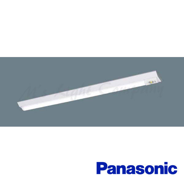 パナソニック XLG441AGN LE9 LED非常用照明器具 40形 W150 反射笠付型 4000lmタイプ 昼白色 非常時30分点灯 自己点検機能 器具+ライトバー 『XLG441AGNLE9』