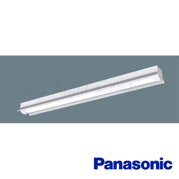 パナソニック XLW433KEN LE9 一体型LEDベースライト Hf32形×1灯高出力型器具相当・ステンレス製・反射笠付型 防湿型・防雨型 3200lm 昼白色 『XLW433KENLE9』