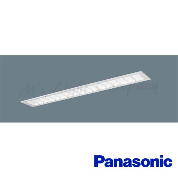 パナソニック XLX435FENC LE9 中止品の為、後継 XLX435FENZ LE9 にてご発送 天井埋込 フリーコンフォート ルーバ付 40形 一体型LED Hf32形1灯高出力相当 非調光