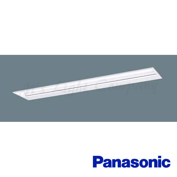 パナソニック XLX451BSWK LE9 黒板灯 埋込型 40形 集光プリズムタイプ Hf32形×2定格出力型器具相当 白色 5200lmタイプ 器具+ライトバー 『XLX451BSWKLE9』