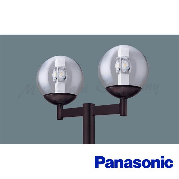パナソニック XY7581K LE9 LEDモールライト 電源別置型 ポール取付型 防雨型 透明ガラスグローブ 電球色 2灯用 6240lm 水銀灯100形×2相当 『XY7581KLE9』