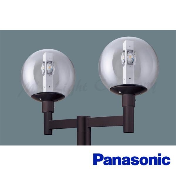 パナソニック XY7781K LE9 LEDモールライト 電源別置型 ポール取付型 防雨型 透明ガラスグローブ 電球色 2灯用 18140lm 水銀灯300形×2相当 『XY7781KLE9』