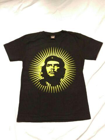 販売実績No.1 全店販売中 ゆうメール 1枚あたり¥108 発送可能 チェ ゲバラ CHE キューバ革命 黒 ブラック Tシャツ GUEVARA