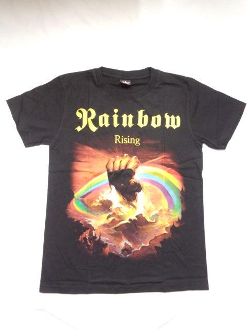 dd968e36c319 Rock T shirt RAINBOW (Rainbow) RISING S M L XL   van T   band t-shirt    HA-droc  HM HR   snake-metal   Rainbow