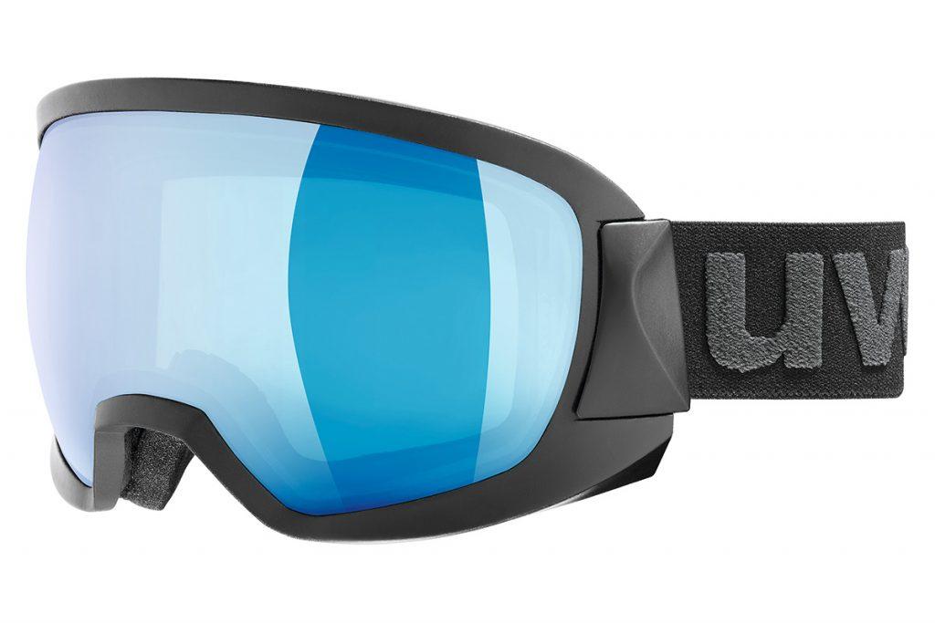 UVEX contest FM ウベックス スキー ゴーグル ミラーレンズ ブラックマット [550133-2026]