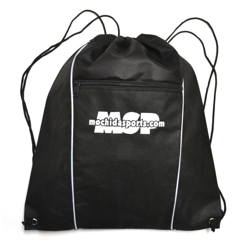 全品送料無料 当店オリジナル 低価格高品質ナップサックタイプの不織布バッグ SALENEW大人気! MSPナップサック ブラック ホワイト ヘルメットバッグ