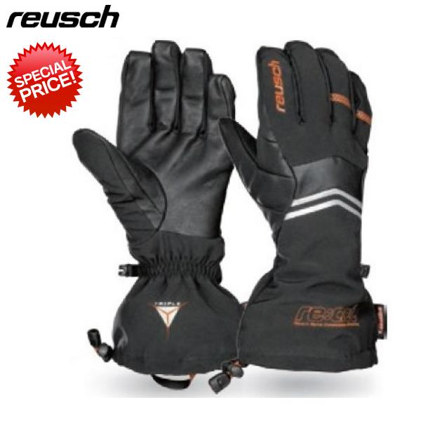 ロイシュ スキーグローブ REUSCH GASHERBRUM TRIPLE SYS R TEX ロイッシュ グローブ ブラック 4407213