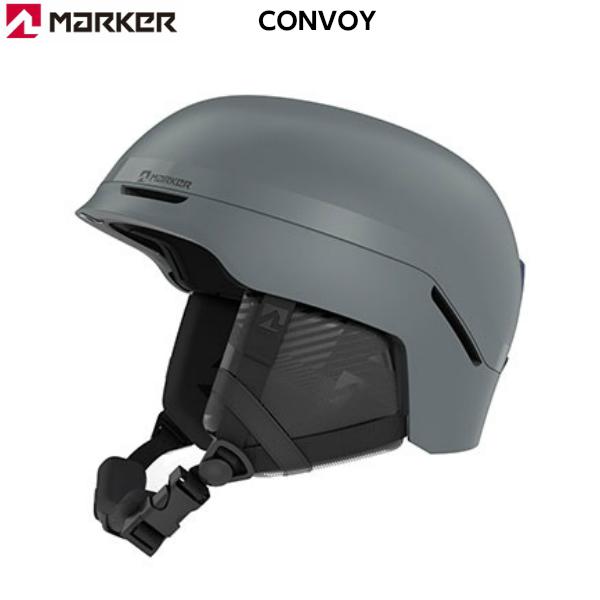 マーカー スキー ヘルメット コンボイ MARKER CONVOY アンスラサイト グレー [16991118]
