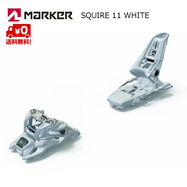マーカー ビンディング SQUIRE11 ID スクワイヤ11 ID ホワイト フリーライド 7424T1MG